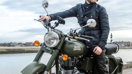 Royal Enfield World Motorrad James Blunt Battle Green