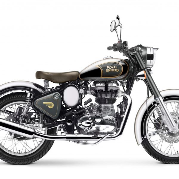 Royal Enfield World Motorrad Classic Chrome Motorrad Grau Graphite