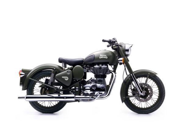 Royal Enfield World Motorrad Classic EFI 500 Battle Green
