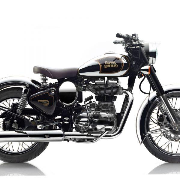 Royal Enfield World Motorrad Classic EFI 500 Chrome Motorrad schwarz