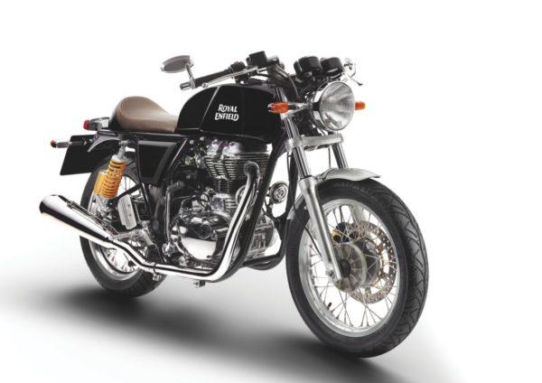 Royal Enfield World Motorrad Continental GT EFI 353 schwarz Motorrad front