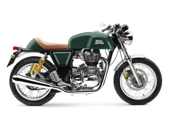 Royal Enfield World Motorrad  GT Continental EFI 535 Gruen
