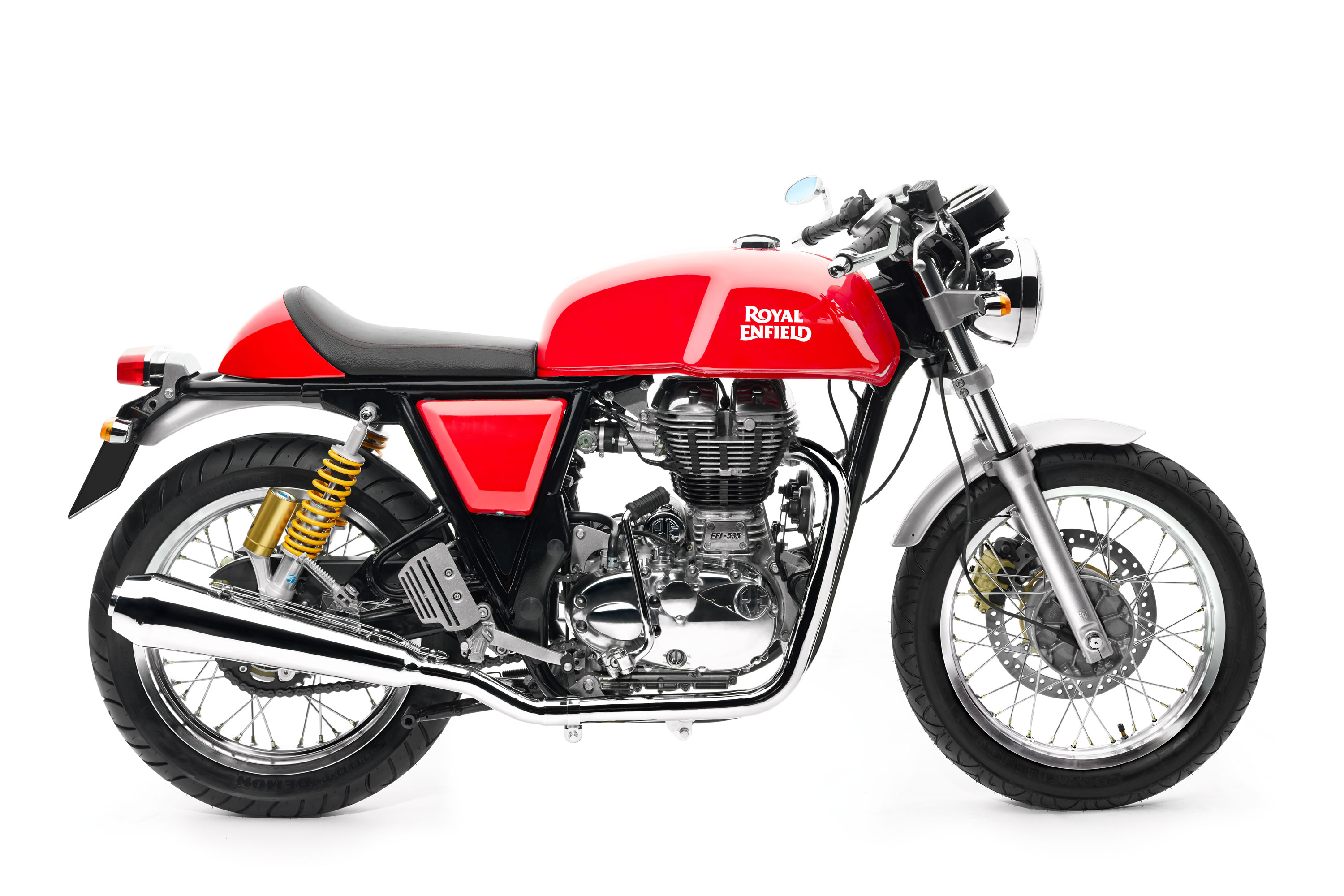 Royal Enfield World Motorrad GT Continental EFI 535 Rot