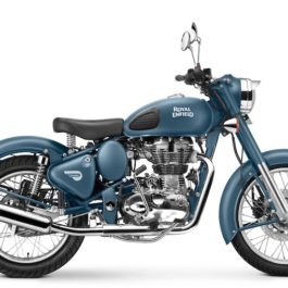 Royal Enfield World Motorrad Classic 500 squadron blue