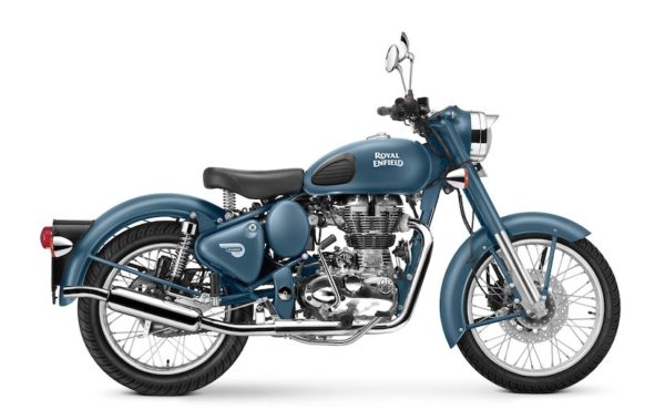 Royal Enfield World Motorrad Classic 500 squadron blue