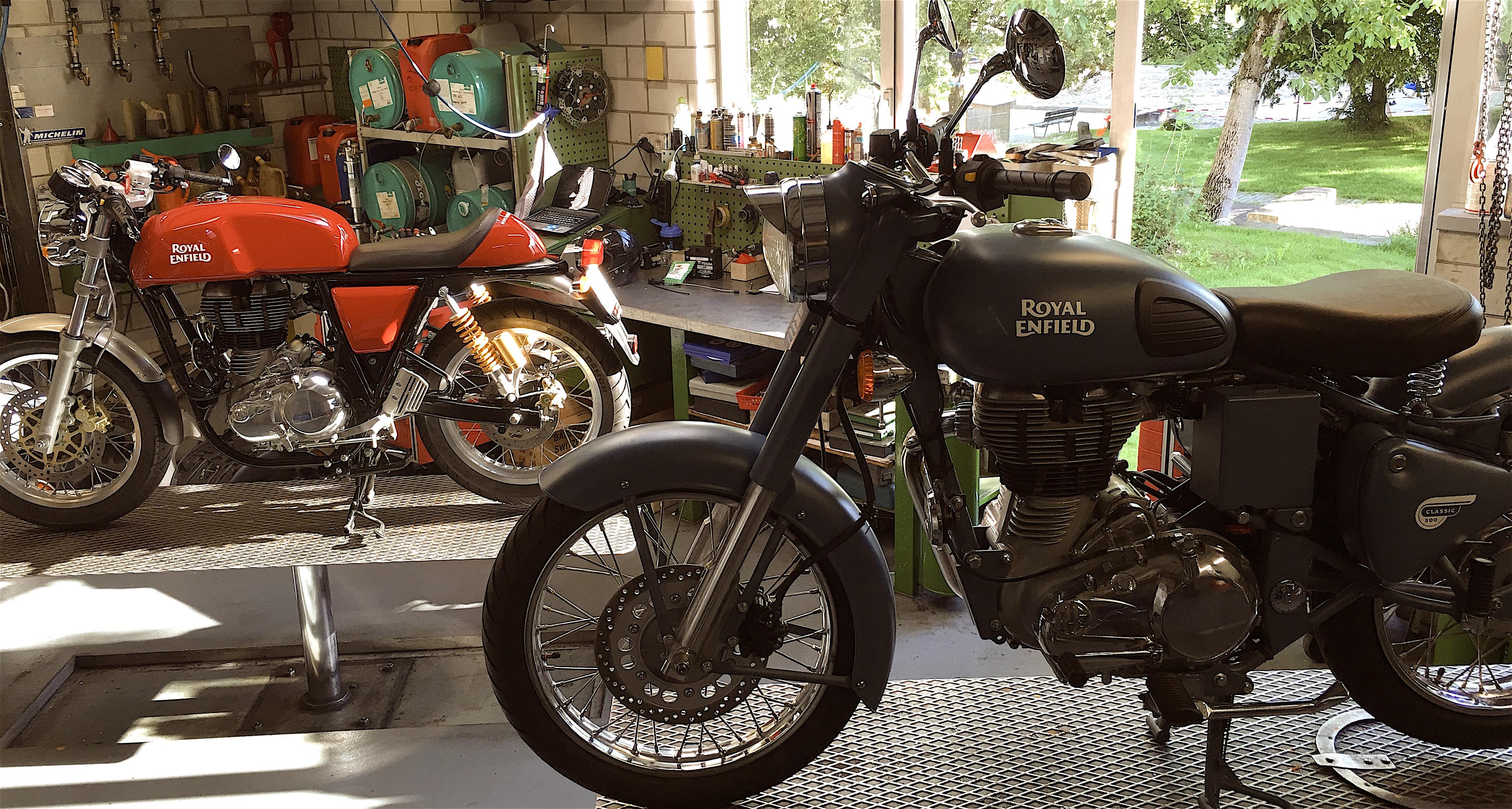 Royal Enfield World Motorrad Werkstatt